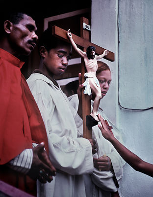 Good Friday, East Timor, March 1999.