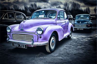 Morris Minor 2 Purple