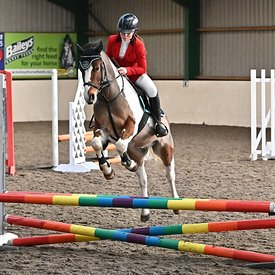 19/01/2020 - Class 4 - Unaffiliated showjumping - Brook Farm training centre