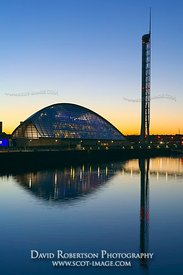 Image - Glasgow Science Centre, Glasgow Tower, River Clyde