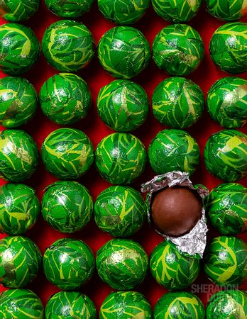 Food Photography Chocolate Christmas Sprouts