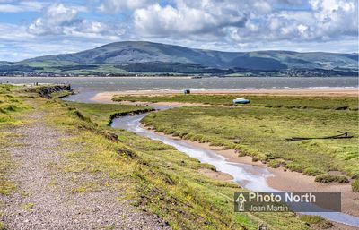 ASKAM IN FURNESS 09A - Black Combe from Askam Pier
