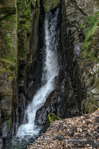 RYDAL 37A - Waterfall, Rydal Beck