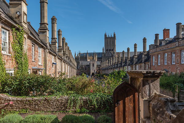 Vicars' Close in Wells, Somerset