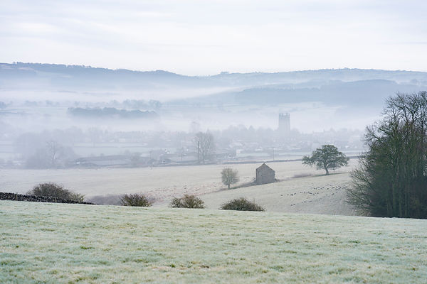 Frosty morning at Youlgrave