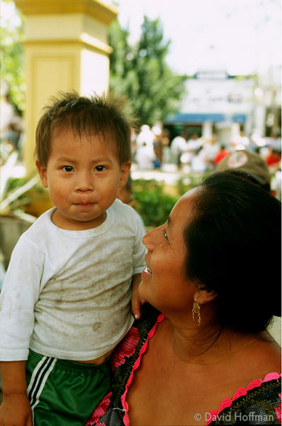 Mexican Mother and Child 1