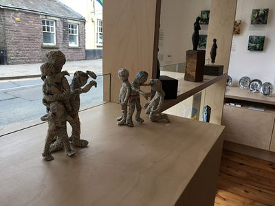 Sculptures by Lynne Bebb and Sue Roberts