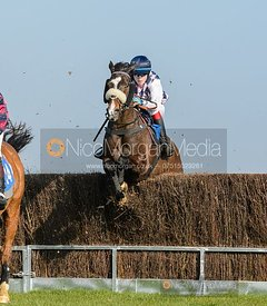 Harry Arkwright (SUSQUEHANNA RIVER) - Race 2 - PPORA Club Members Race for Novice Riders - The Cottesmore at Garthorpe