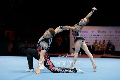 AG 13-19 Mixed Pair Kazakhstan - Balance