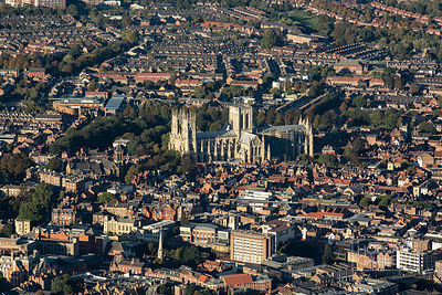 York from the air