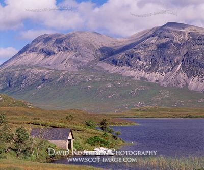 Image - Loch Stack and Arkle, Sutherland, Scotland