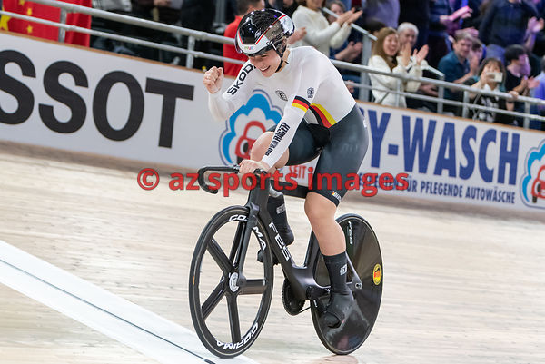 Women 's Team Sprint finals - Germany - GRABOSCH Pauline Sophie, FRIEDRICH Lea Sophie, HINZE Emma