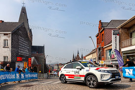 The Car of UAE Team Emirates - Tour of Flanders 2019