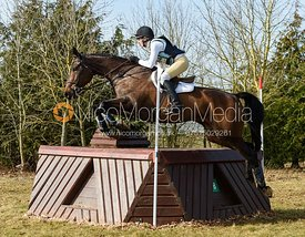 Katie Barber and DON MEECO - Intermediate Sections - Oasby Horse Trials, March 2018.