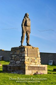 Image - Memorial for the Longhope Lifeboat disaster of 1969 in the Kirkhope burial ground, Longhope, South Walls, Orkney, Sco...