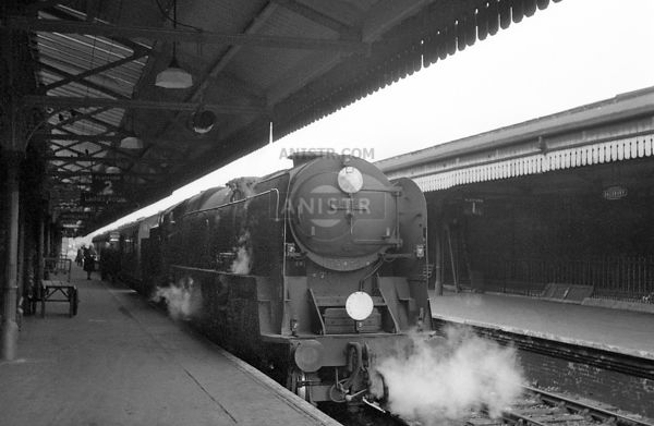 Steam loco BB 34052 Salisbury