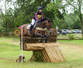 Lizzie Baugh and QUARRY MAN - Aston Le Walls Horse Trials 2019.