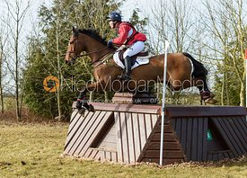 Chuffy Clarke and SECOND SUPREME - Intermediate Sections - Oasby Horse Trials, March 2018.