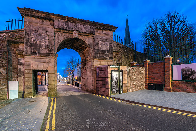 Bishops Gate Blue Hour