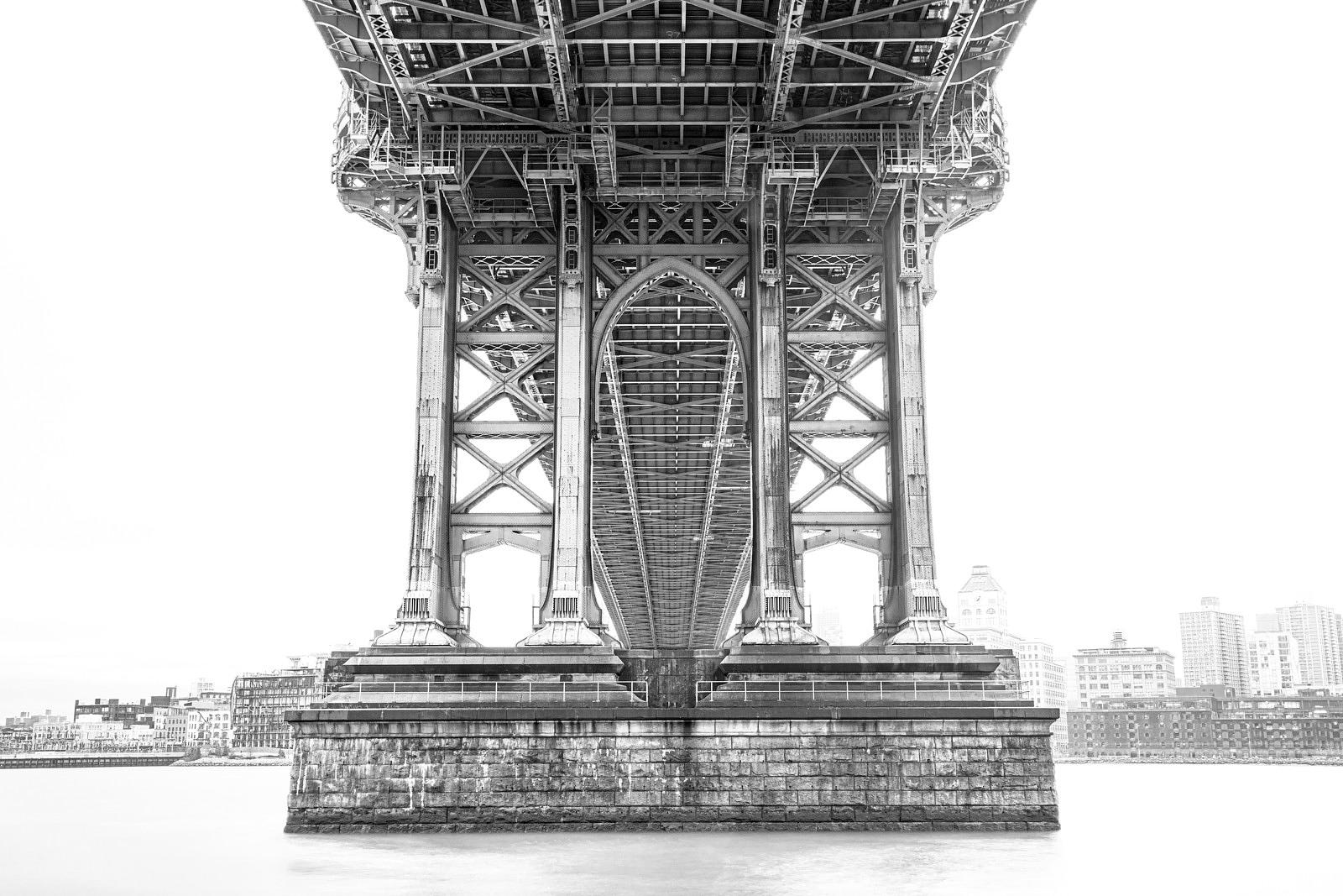 Manhattan Bridge No.1 New York 2017: Photographer Neil Emmerson