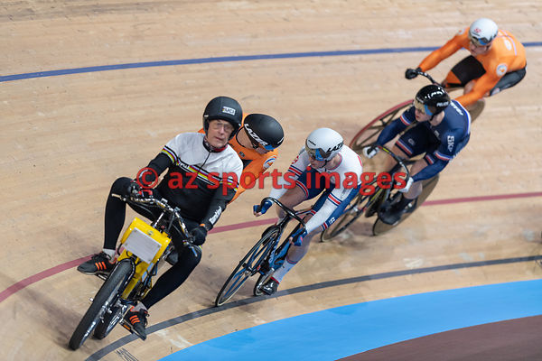 Men's Keirin semifinals - KENNY Jason (GBR)