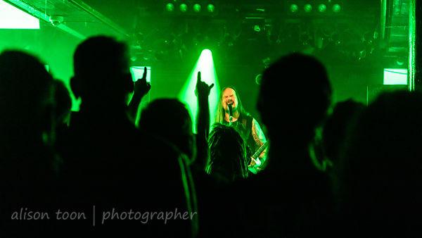 Niilo Sevänen, vocals, Insomnium
