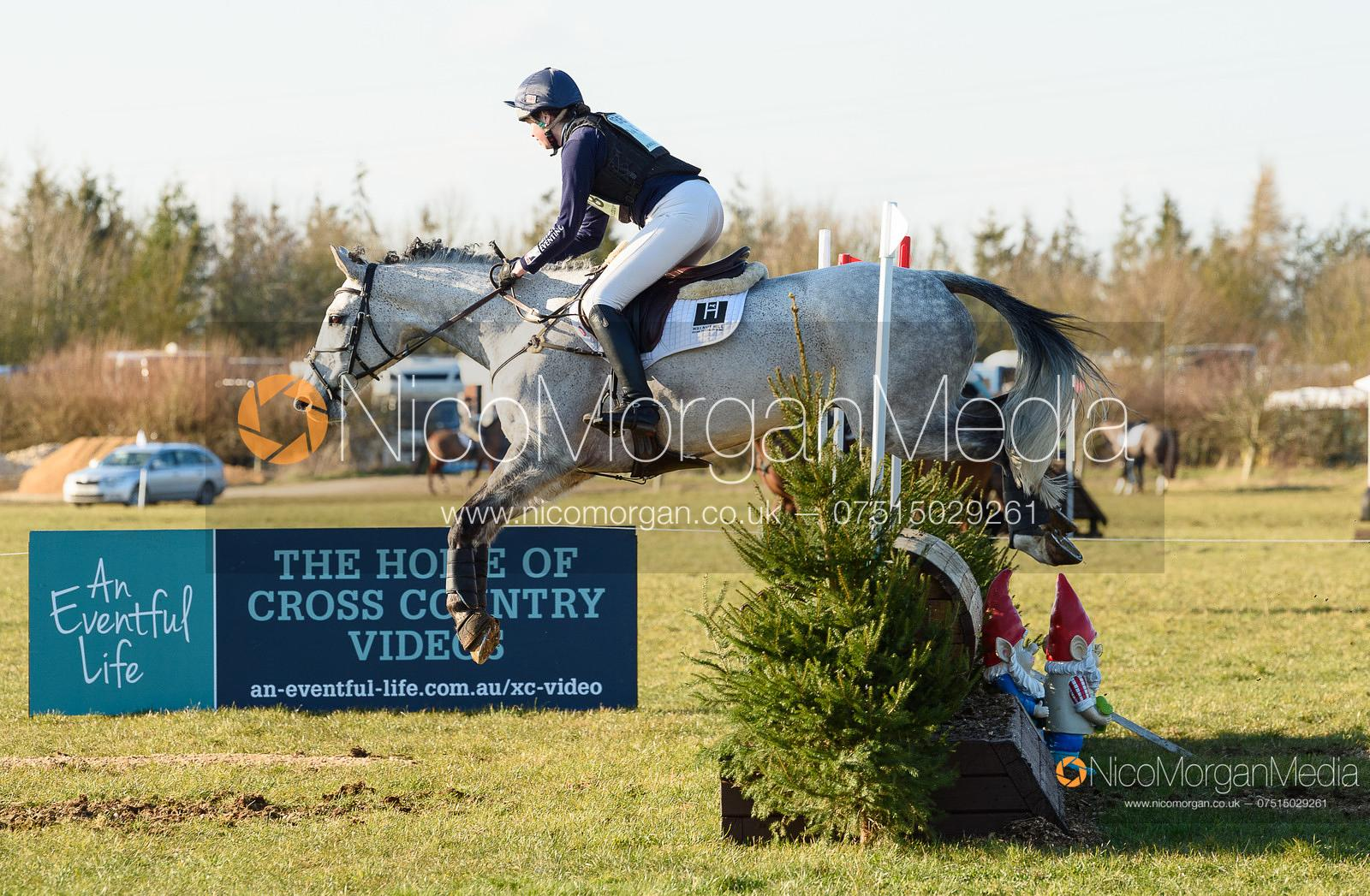 Katie Bleloch and GOLDLOOK. Oasby (1) Horse Trials 2020