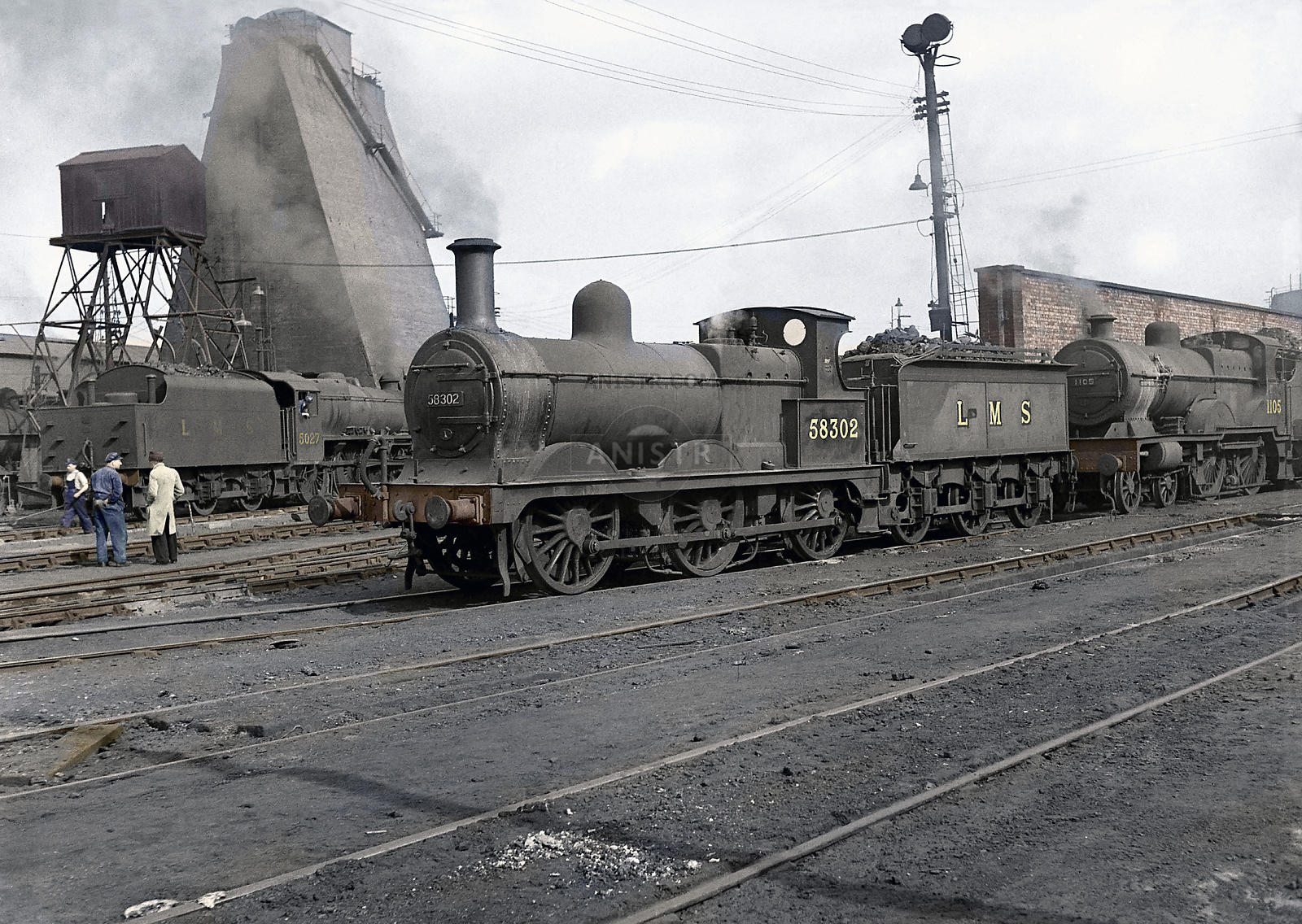 58302 Willesden (Colourised)