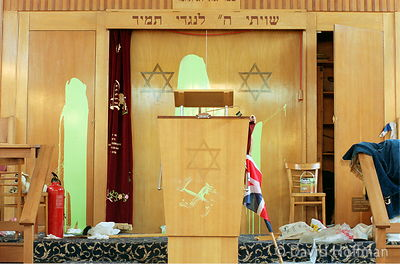 Vandalised Synagogue 2