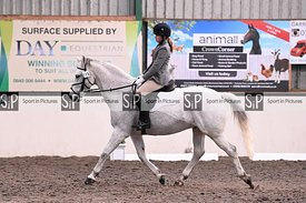 Stapleford Abbotts. United Kingdom. 06 December 2020. Unaffiliated combined training - dressage. MANDATORY Credit Garry Bowde...