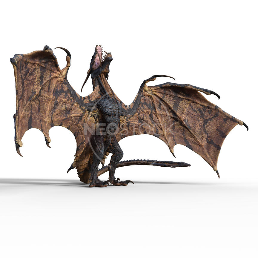 28-CG-creature-ultimate-dragon-wyvern-neostock