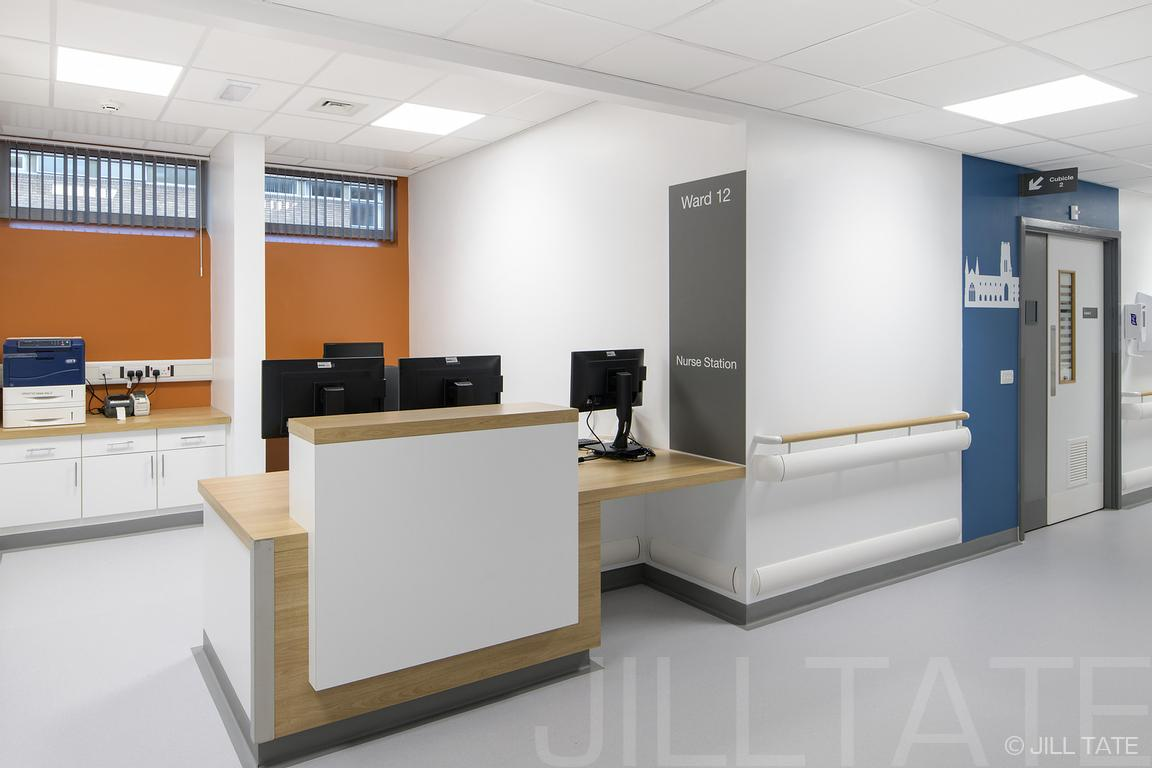 Ward 12, Freeman Hospital, Newcastle | Client: Medical Architecture