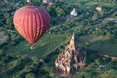 Balloons over Bagan 2