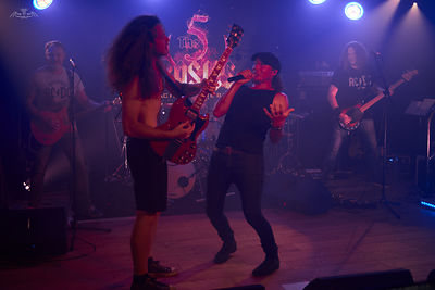 The 5 Rosies : Tribute AC/DC • The Backstage Montrouge 2020-06-21