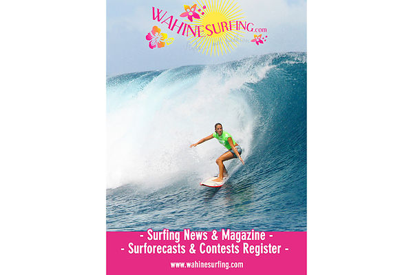 Wahine surfing contest