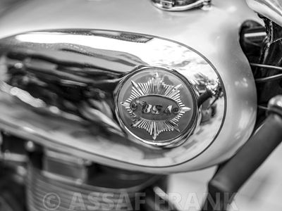 BSA classis motorcycle