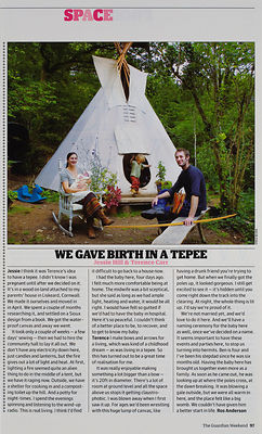 'Born in a Tepee'.