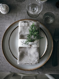 Vegetarian Christmas Table