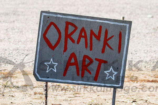 Oranki Art -kyltti III Sign of Oranki Art