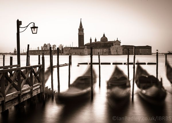 Dawn over San Giorgio in Venice