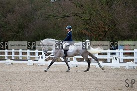 British Dressage. Class 2. {10}/{02}/{2019}. ~ MANDATORY Credit Elli Birch/Sportinpictures - NO UNAUTHORISED USE - 07837 394578