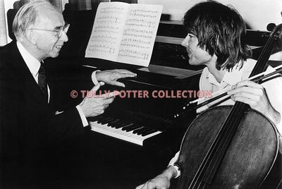 T16173_Eric_Fenby_English_musicologist_and_Julian_Lloyd_Webber_English_cellist