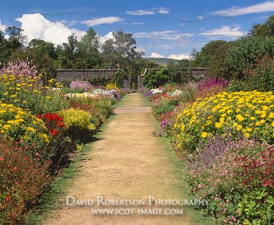 Image - Culzean Castle Walled Garden, Ayrshire, Scotland