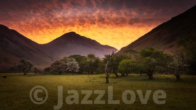 Sunrise over Wasdale
