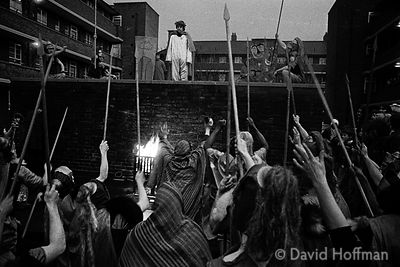 The Way of the Cross, Stepney. Easter 1975.