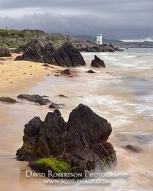 Image - Traigh Bhan beach, Singing Sands, near Port Ellen, Isle of Islay, Argyll, Scotland
