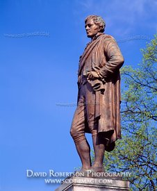 Image - Statue of Robert Burns, Stirling