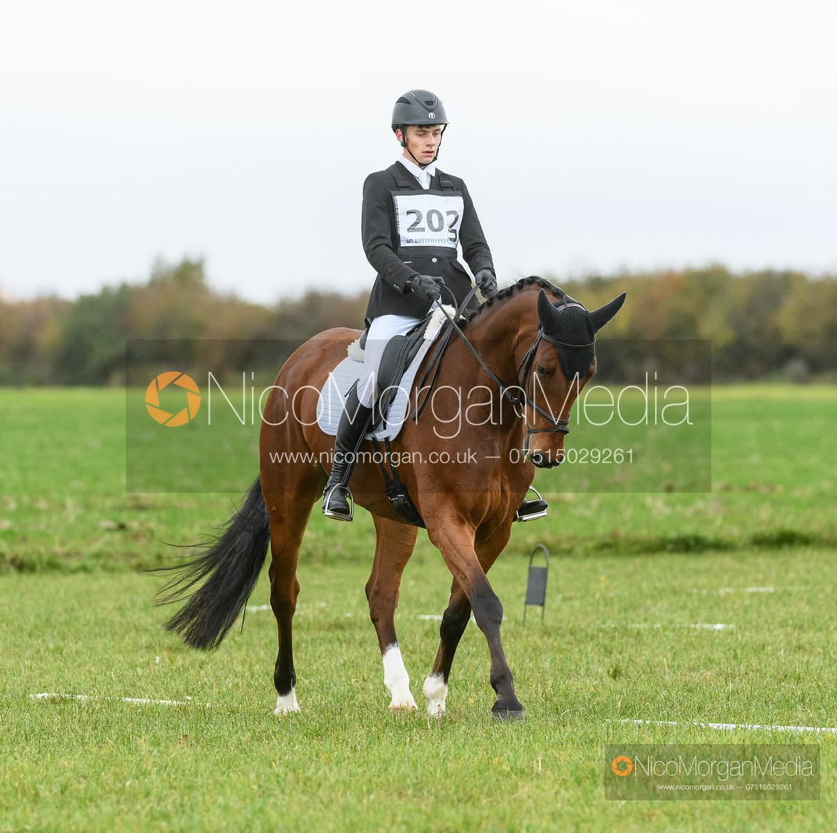 Archie Smiith Maxwell and NO EXCUSE - Oasby (2) Horse Trials 2020
