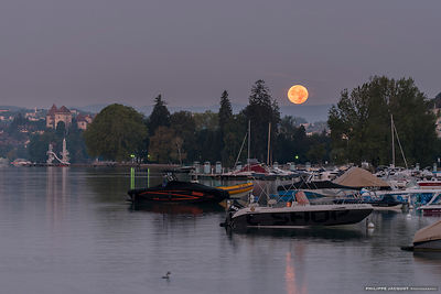 Harvest moon - Annecy