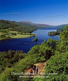 Image - Queen's View, Loch Tummel, Perthshire, Scotland, People